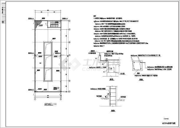 电机中心三菱原理压缩机动力CAD示意图xpcad2011退打开闪图片