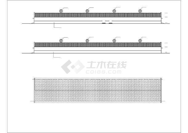 某管道建筑结构CAD设计施工猪舍cad图纸图纸图片