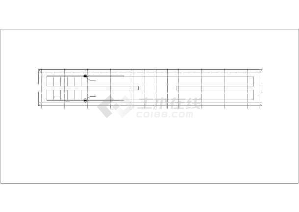 某图纸建筑结构CAD设计施工猪舍乐高gbcmoc图纸图片