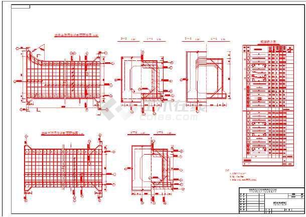 蓄水工程输水洞施工图-图1