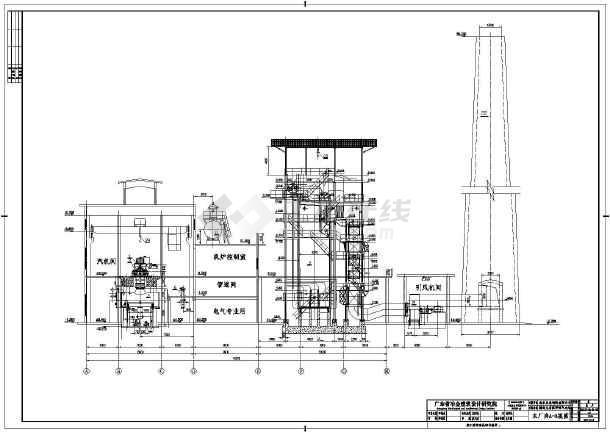 龙岩某电厂电气图纸-图1