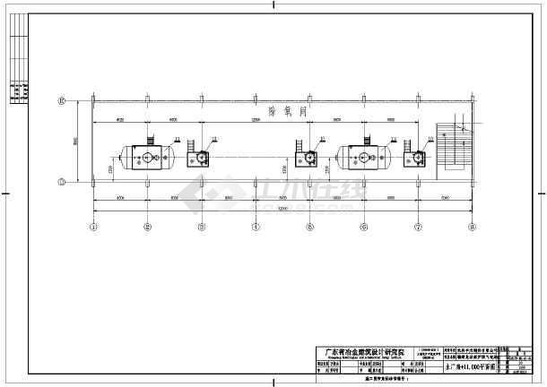龙岩某电厂电气图纸-图2