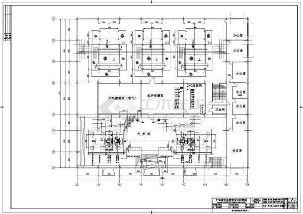 龙岩某电厂电气图纸-图3
