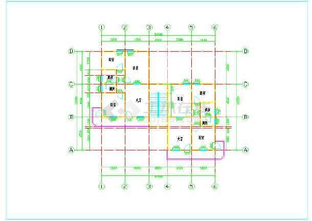 某住宅施工平面图
