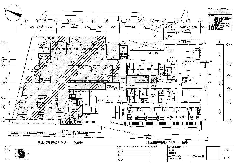 某精神病平面电气v平面医院布置cad图可以设计装修效果图的软件下载图片