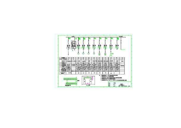 某10KV配电站供电系统设计施工图-图1