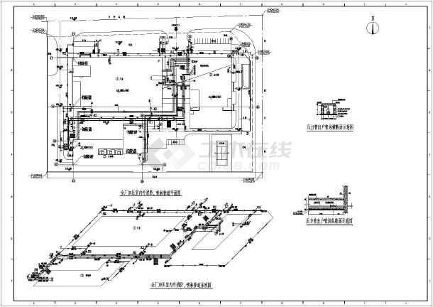 超强的室外给排水设计施工图-图2