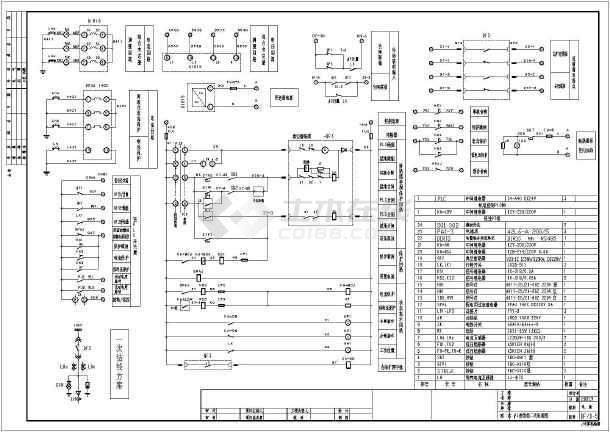 xl-21接线cad平面设计图纸全套