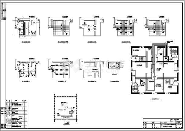 心典型装修图及弱电井设备安装图