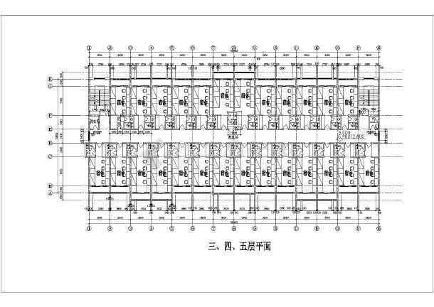 某高校宿舍建筑方案-图3