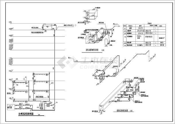 高层建筑给排水设计cad施工图
