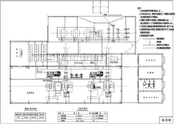 某帮手小水全套机电工程cadv帮手图纸cad小电站试用版图片