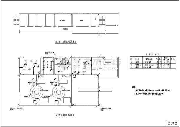 某工程小水电站机电底色cadv工程图纸修改cad全套图片