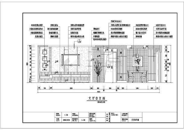 某地样板房设计规划方案装修全套施工图图片