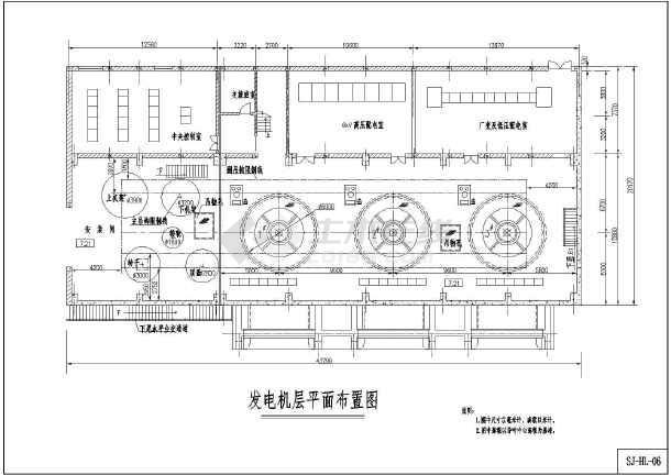 小水图纸机电CADv图纸电站(HL)cad里面pvc表示墙铺设线槽沿怎么图片