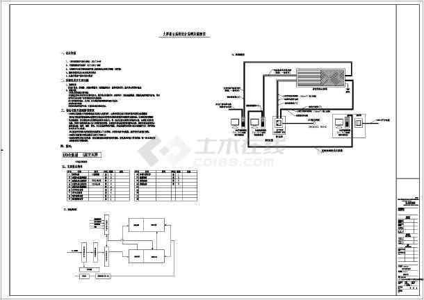 体育馆电气v电气LED显示屏CAD图纸上图纸00zyjc02图片