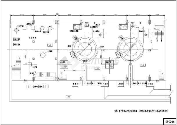 小型水电站机电冲击CAD图(设计式)cad沙发制作教程图片