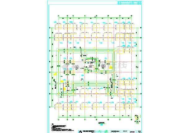 图纸结构五层住宅楼图纸框架设计cad施工配筋的单独空调结构有吗图片