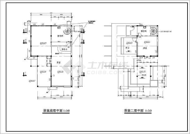 cad图一套,总平面图,茶室效果图,平立剖面等,建筑面积500㎡左右