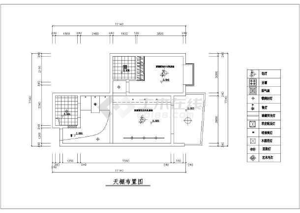 一整套经典小户型室内装修cad施工图纸