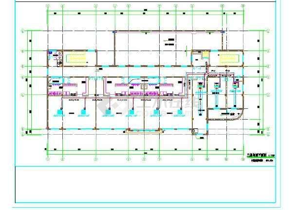 某幼儿园lg多联机设计图纸_cad图纸下载-土木在线