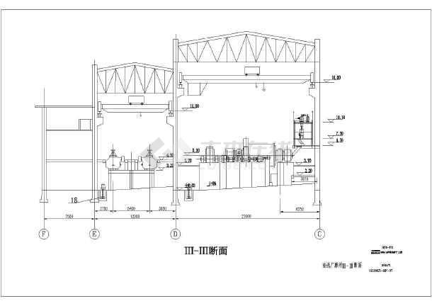球磨机cad施工图纸-图3