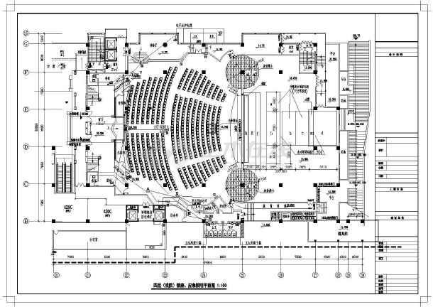 保利剧院舞台平面图