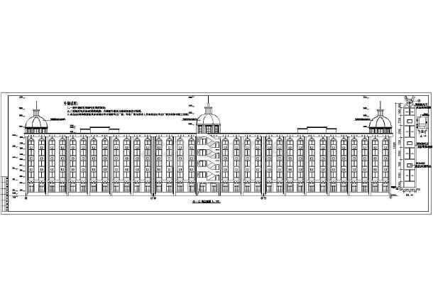 某办公楼全套 cad施工图-图1
