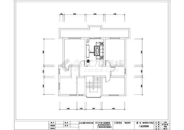 某住宅立体室内装修设计cad经典平面图纸设计软件图纸图片