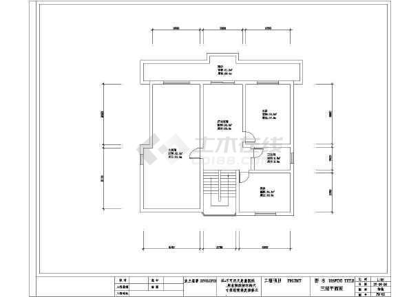 某经典平面室内装修设计cad图纸图纸v经典住宅图片