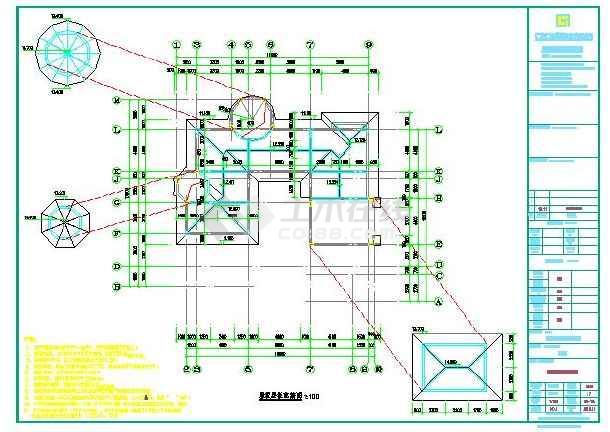 某地阳台加楼梯植筋结构设计详图(含设计说明)