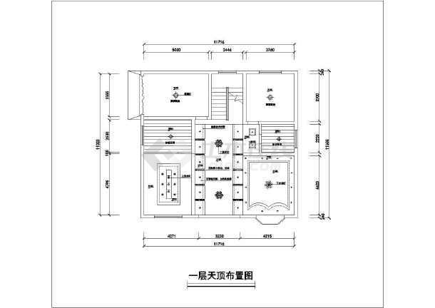 三层三间楼房设计图