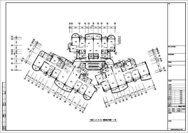 小区高层水泵房及蓄水池给排水设计施工图