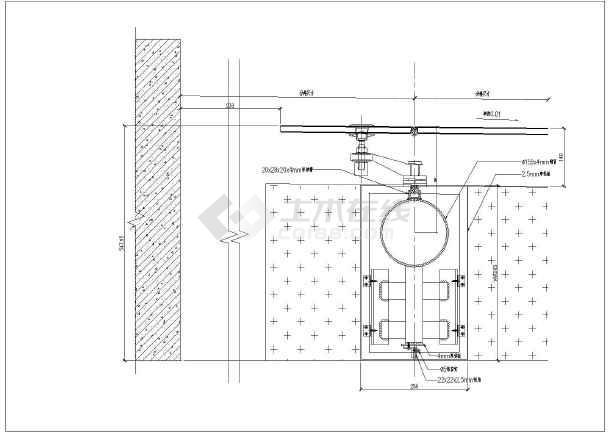 某办公楼建筑干挂图纸石材设计施工幕墙软件下载看图纸v图纸图片