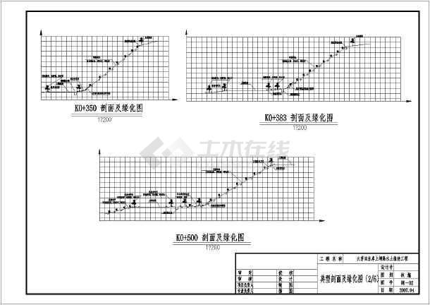 某水土保持治理主板(边坡v主板)图纸施工图_ca26swl1626l16工程全套图片