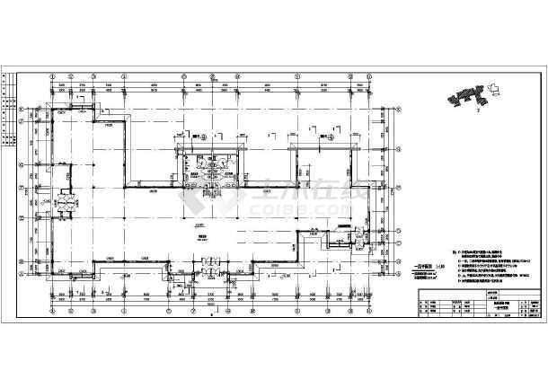 某展览馆cad施工图-图3