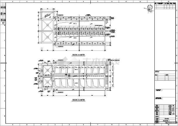 某废水处理站厌氧反应池结构设计施工图-图1