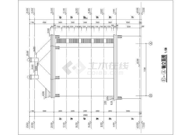华森多层住宅设计图纸-图2