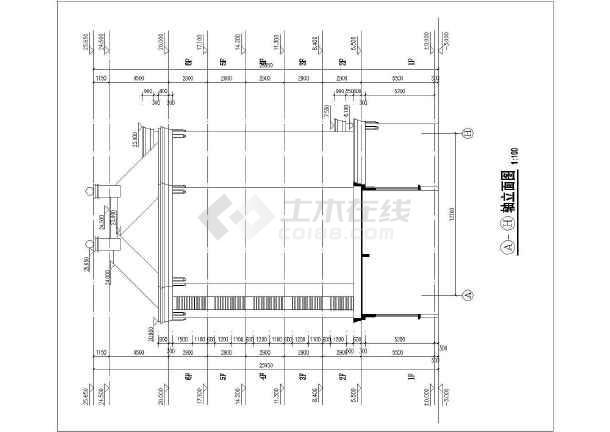 华森多层住宅设计图纸-图3