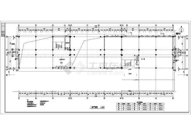 湘潭市火炬小学规划总平面图及教学楼食堂建筑施工图