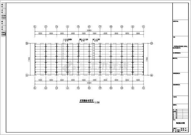 常州扩建钢结构工程设计全套CAD直径cad改图纸标数字图片