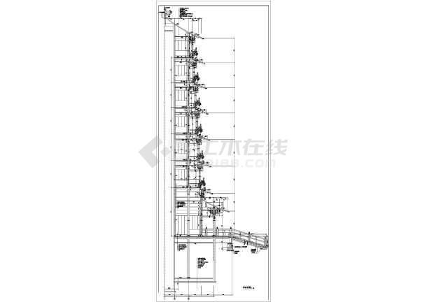 七层塔古建筑全套建筑施工图纸(含说明)