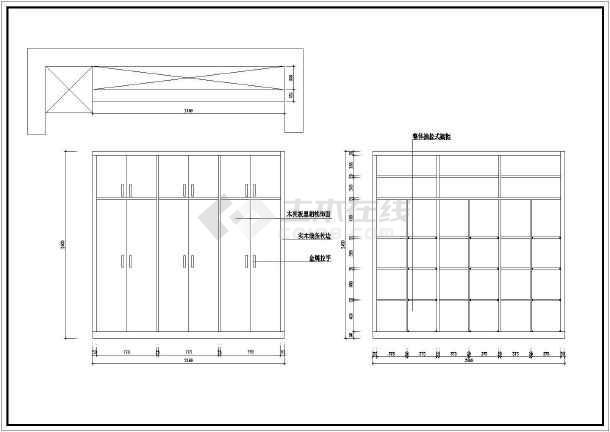 某图纸室内家庭装修cad施工设计家装高边坡架手架图纸图片