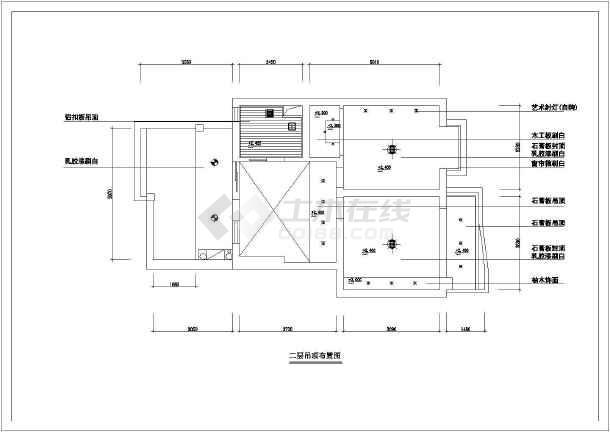 某复式公寓设计cad全套装修图纸 完整