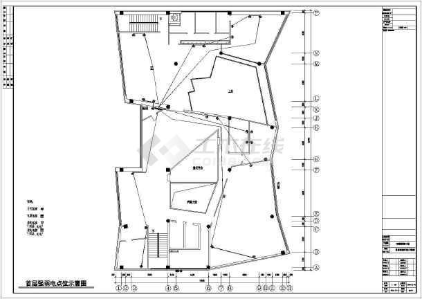 某地二层售楼处设计装修规划方案施工图图片