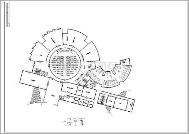 工程图 户型 户型图 简笔画 平面图 手绘 线稿 610_432图片