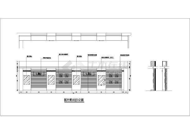 集美大学艺术学院展览馆设计图-图1
