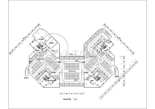 某二层会所建筑设计平面图(带幼儿园)图片