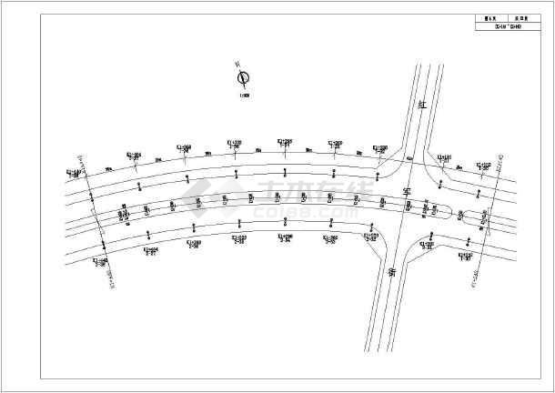 某城市道路太阳能路灯CAD全套图纸