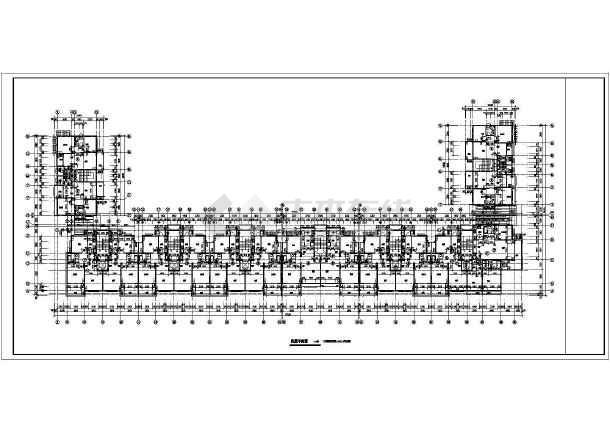 西班牙建筑风格住宅楼施工图-图1